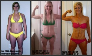 Jamie Eason's Live Fit Trainer Results