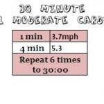30 Minute 4:1 Moderate Cardio