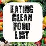 Eating Clean Grocery List – Approved Foods List