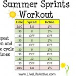 Summer Sprints Workout