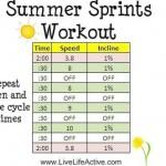 Summer Sprints Workout