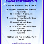 Sweat Fest Workout