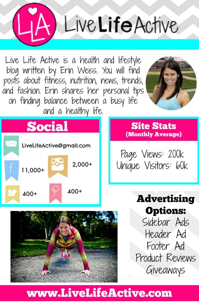 Live Life Active Media Kit