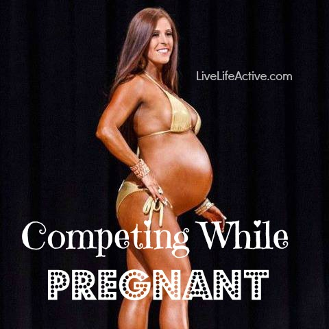 competingpregnant