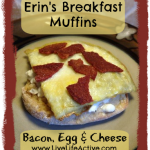 Healthy Bacon Egg & Cheese Muffin Recipe