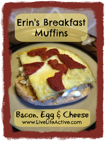 Healthy Bacon Egg and Cheese Breakfast Muffin Recipe - MUST TRY - Clean Eating Recipe