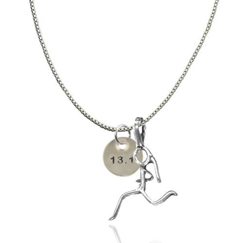stamped running charm