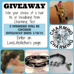 Charming Ties Giveaway – Enter on LiveLifeActive's Facebook Page