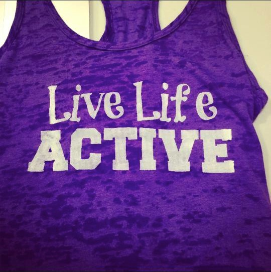 Live Life Active Tank Top