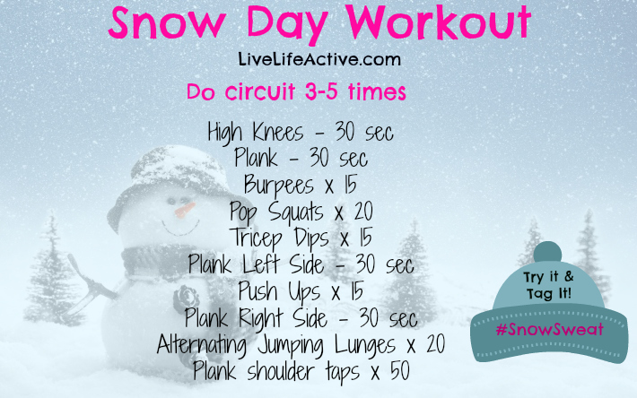 SnowSweatWorkout