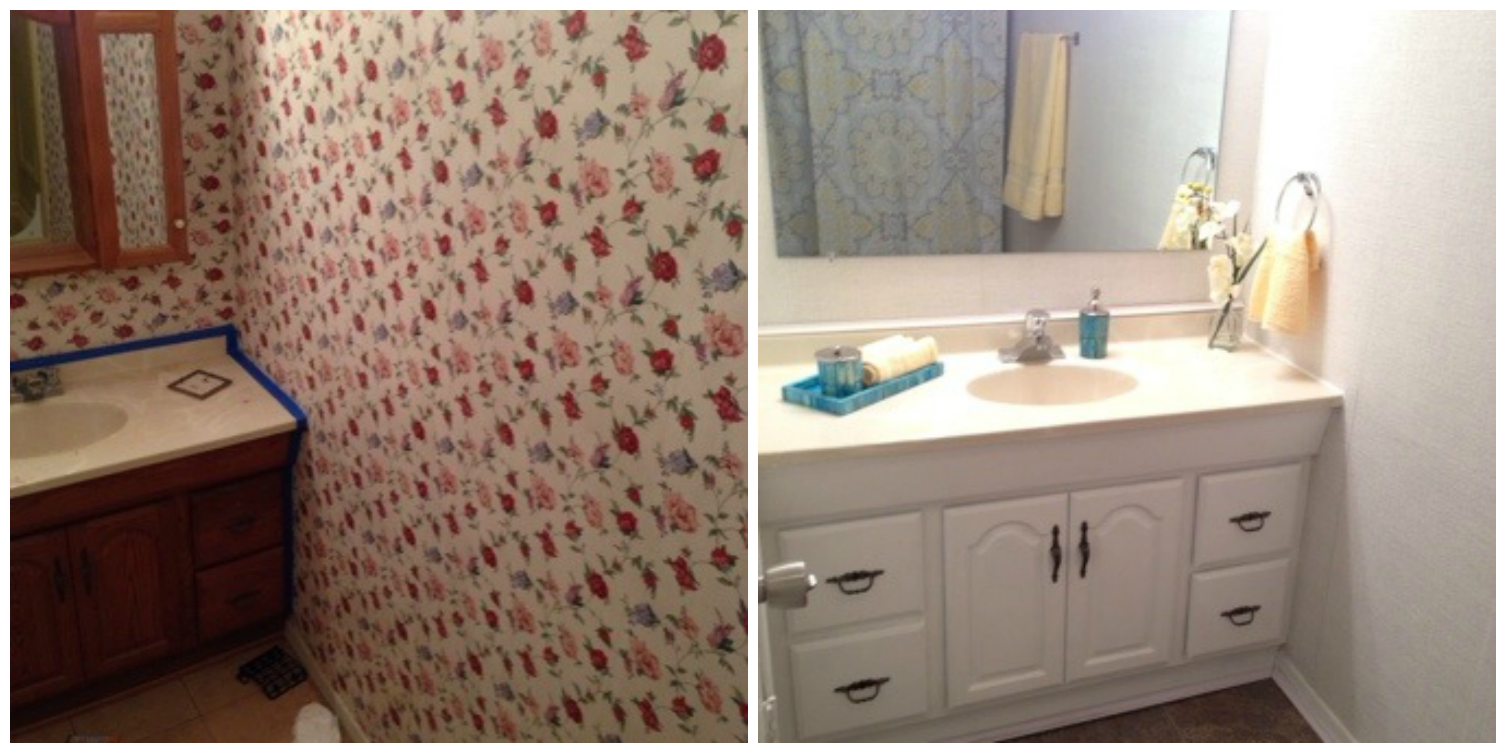 Fitness blog for Before and after bathroom makeovers