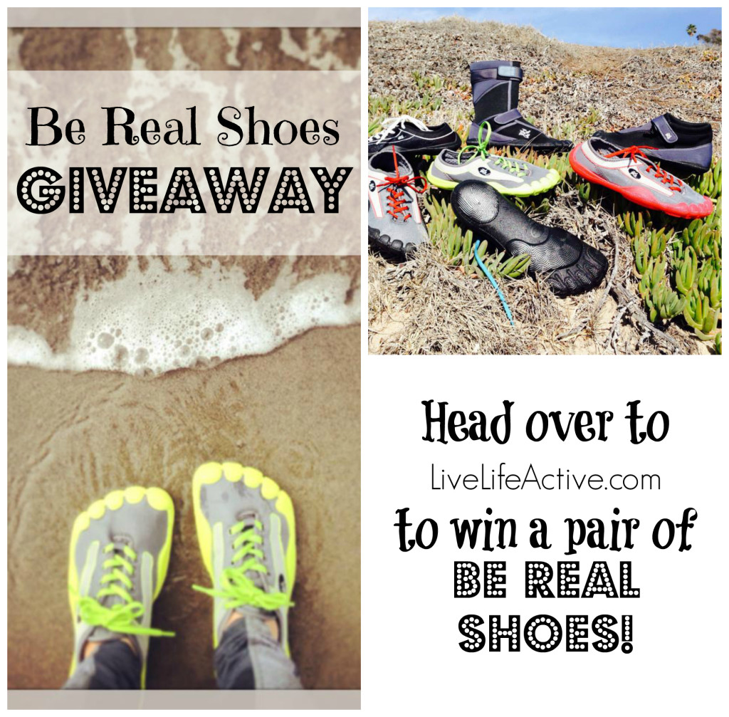 be real shoes giveaway