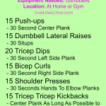 Killer Core & Guns At Home Workout