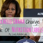 Michelle Obama's Nutrition Label Changes