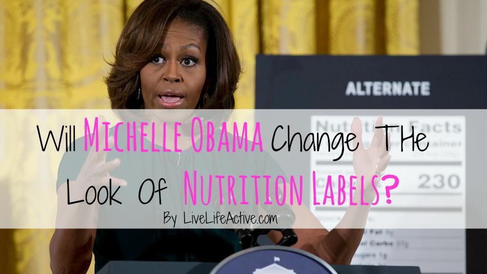 michelle obama nutrition label