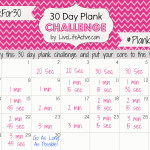 30 Day Plank Challenge