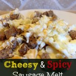 Cheesy And Spicy Sausage Melt Recipe
