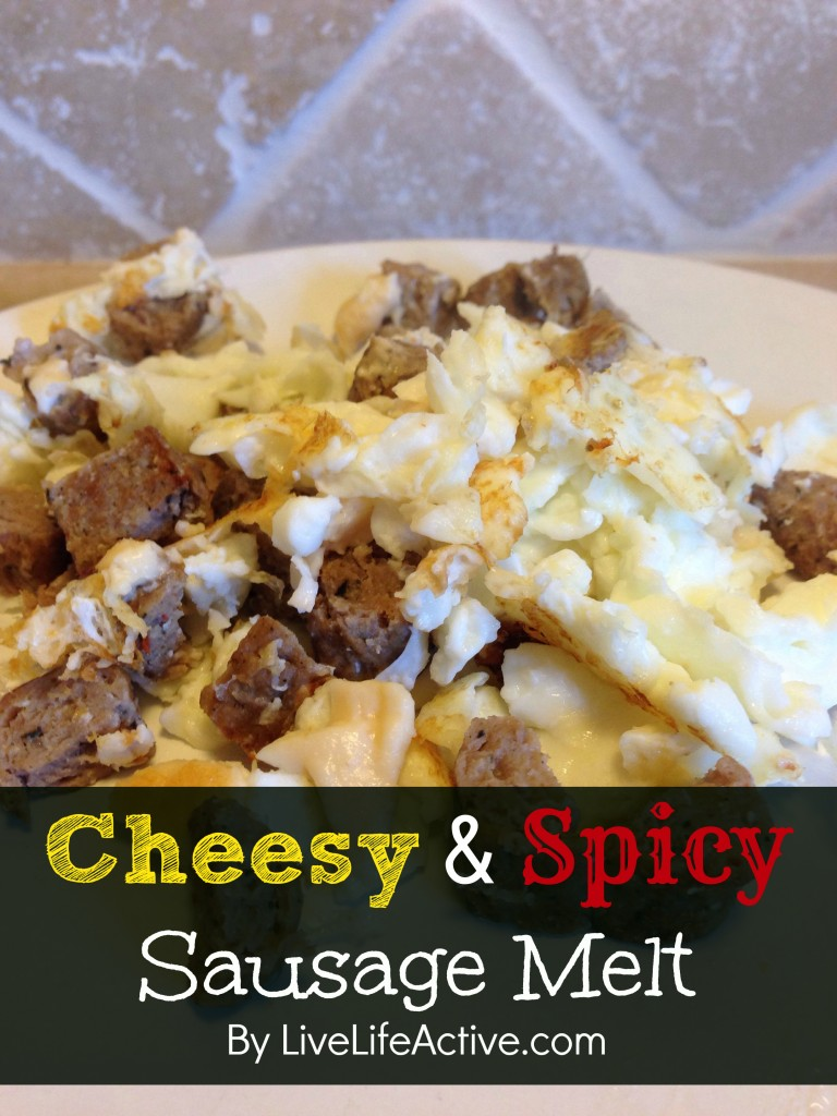 Cheesy Spicy Sausage Melt