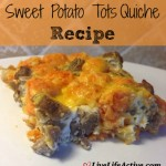 Sweet Potato Tots Quiche Recipe