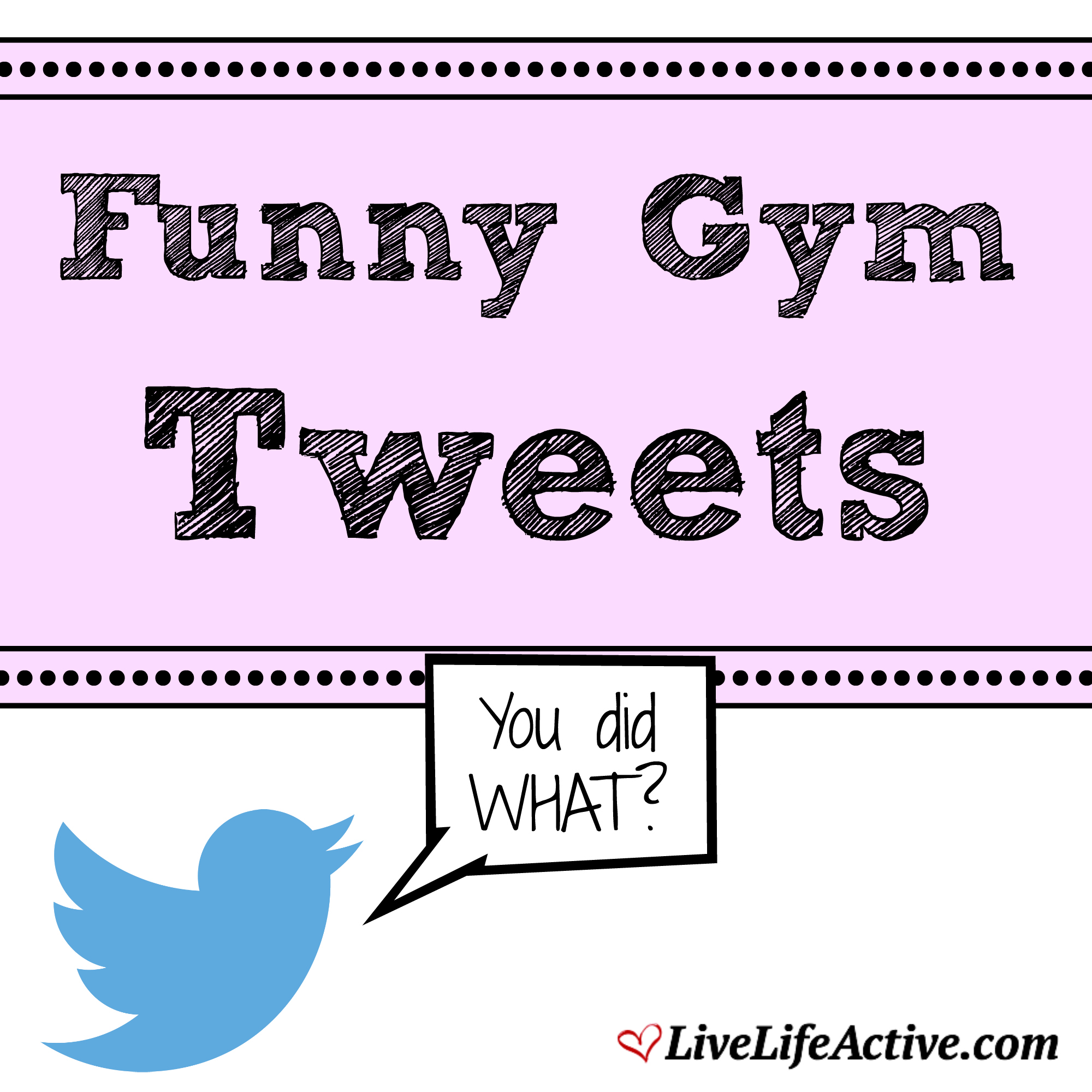 funny gym tweets