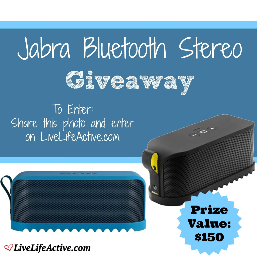 Jabra Portable Bluetooth Giveaway