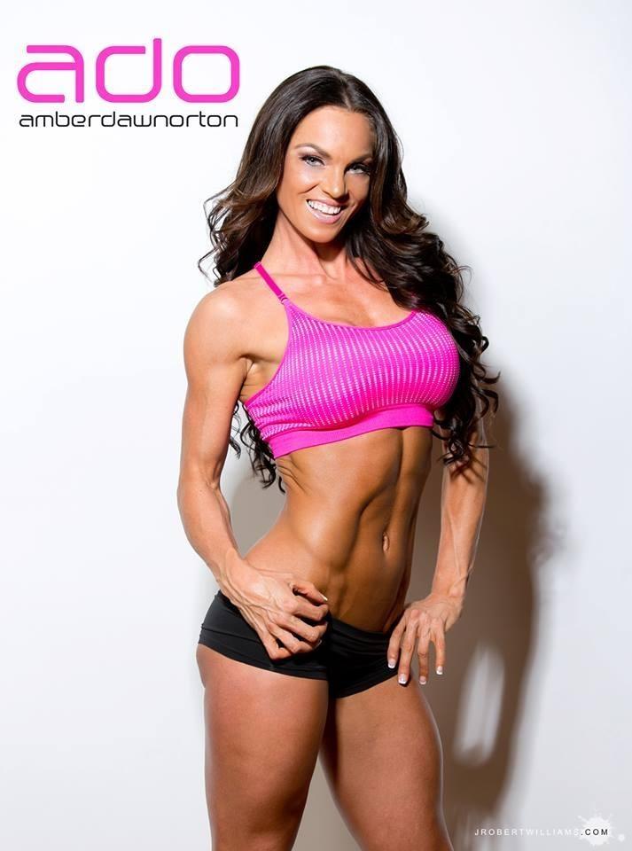 Fitess Model Amber Dawn Orton