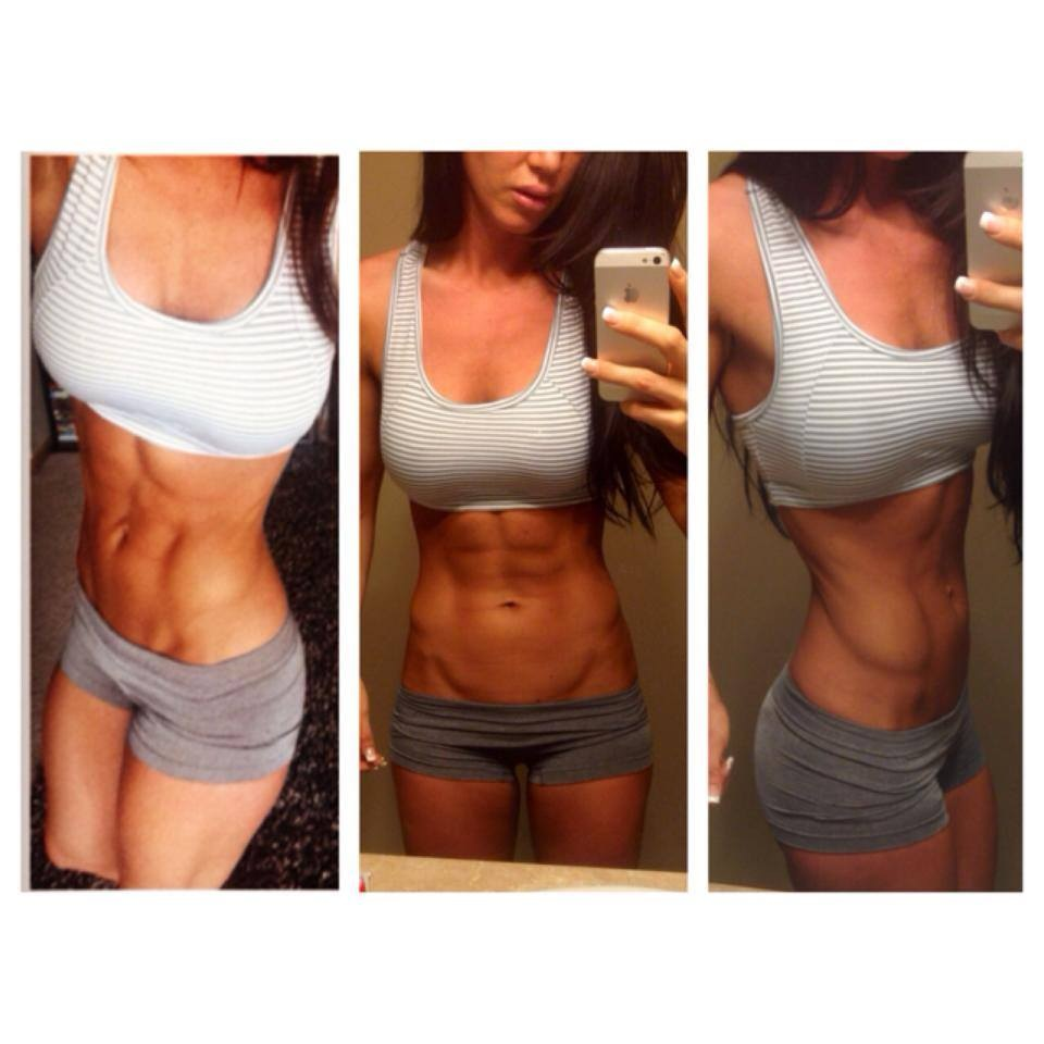 Fitness Model Amber Dawn Orton