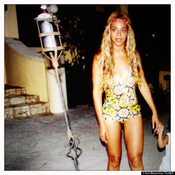 beyonce in one piece suit
