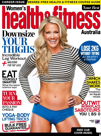 Womens Health & Fitness August 2014