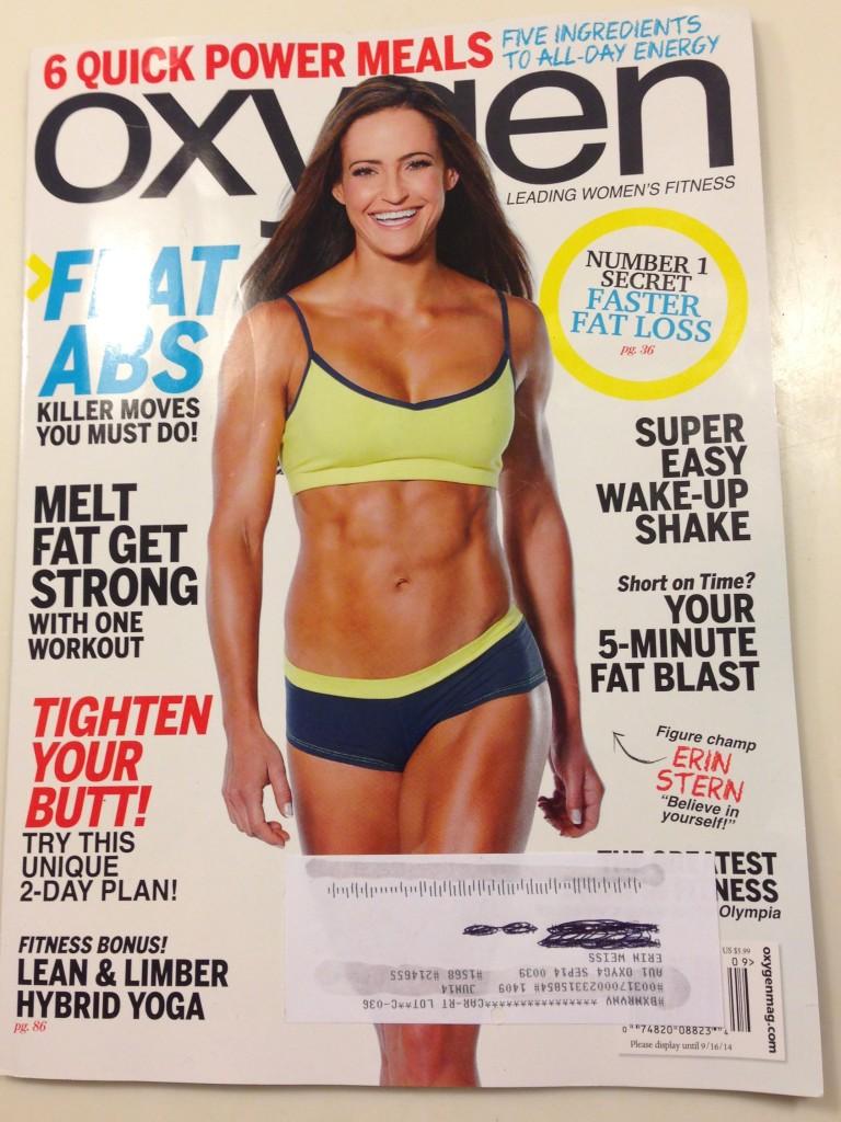 Oxygen Magazine September