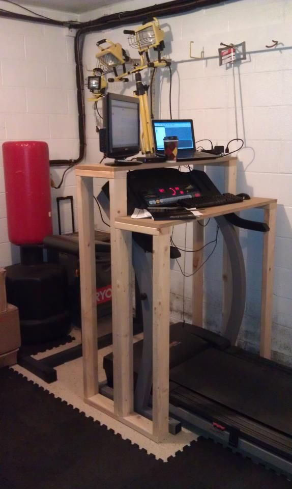 How To Build A Treadmill Desk Live Life Active Fitness Blog