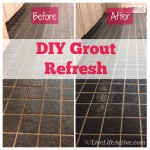 DIY Grout Refresh