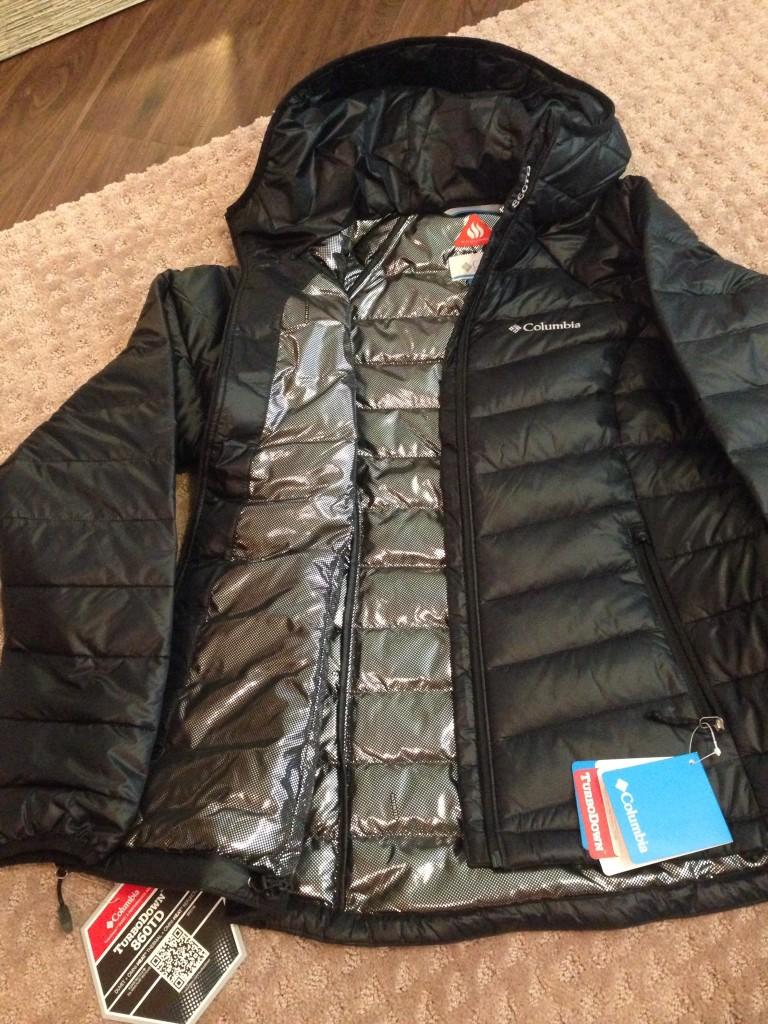 Columbia TurboDown Jacket
