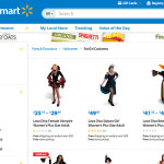 Walmart In Trouble For Using Term Fat Girl Costumes