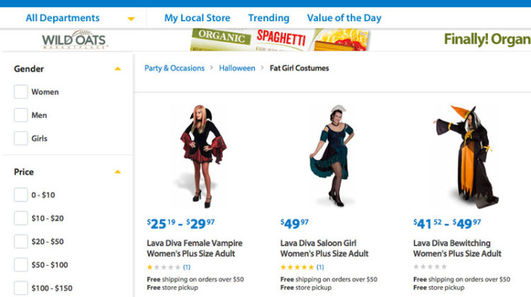 fat girl costumes