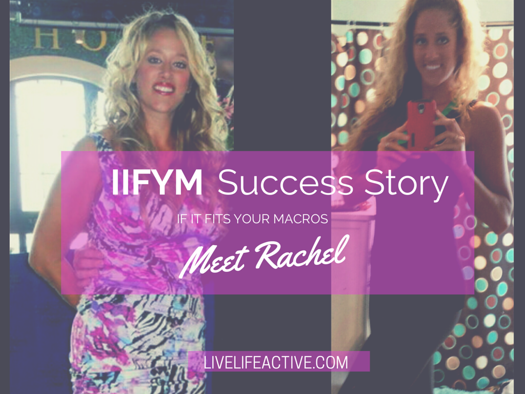 IIFYM Before and After success story