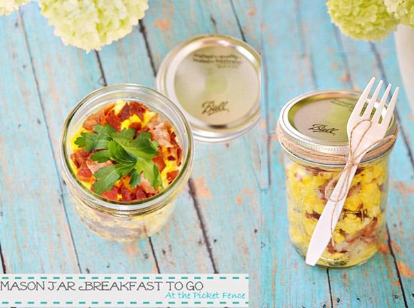 mason jar breakfast recipe