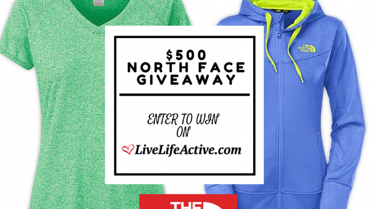 North Face Giveaway