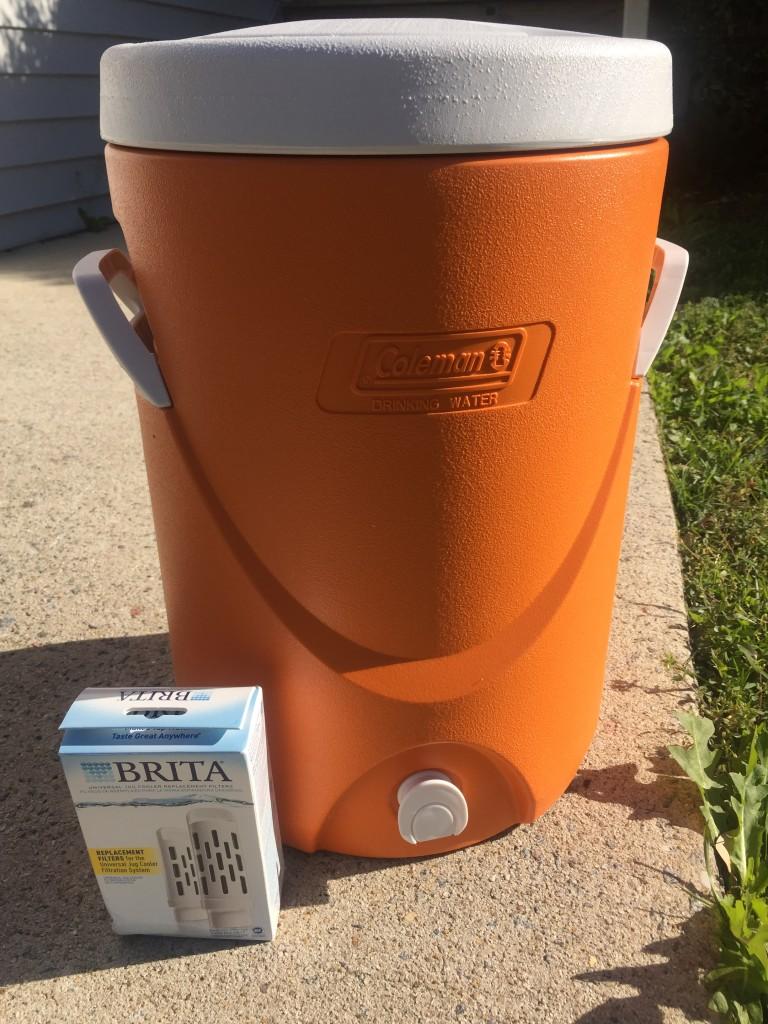 Brita Jug Coleman - water cooler