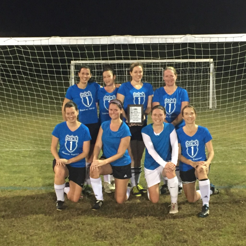CSL Charleston Soccer League Womens Soccer Champions