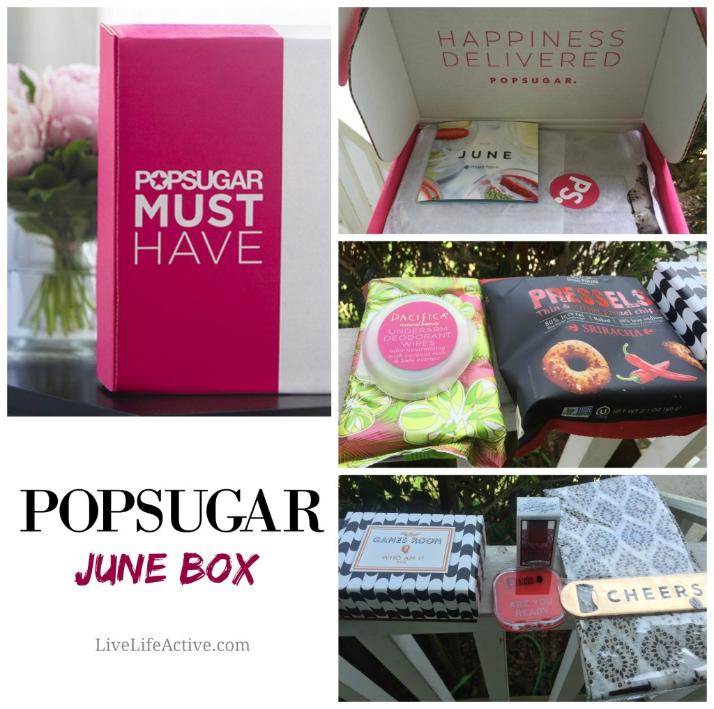 PopSugar Must Have June Box