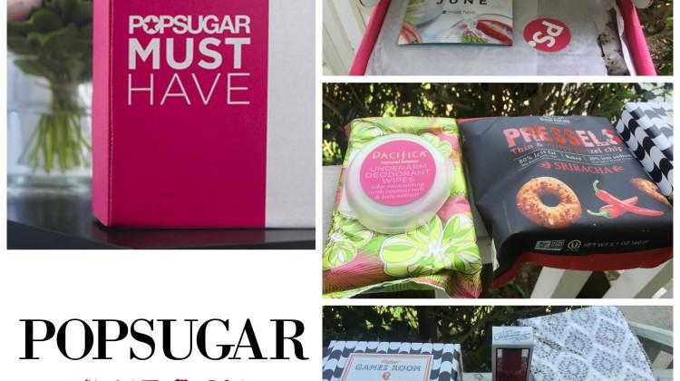PopSugar Must Have – June Box!