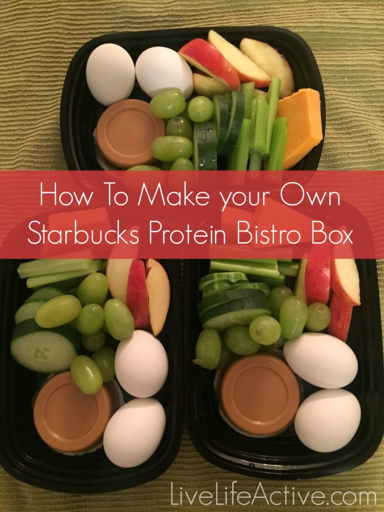 make your own starbucks protein bistro box so easy live life active fitness blog. Black Bedroom Furniture Sets. Home Design Ideas