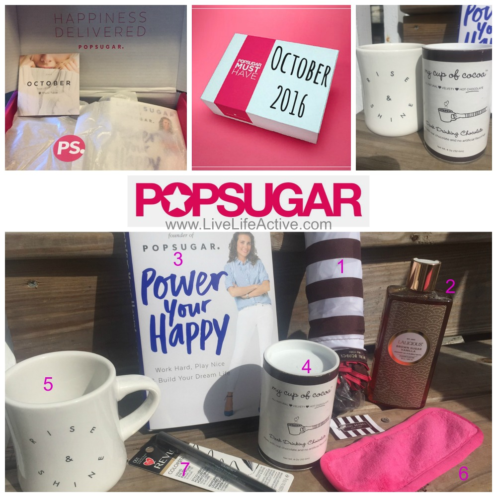 Popsugar must have box october 2016