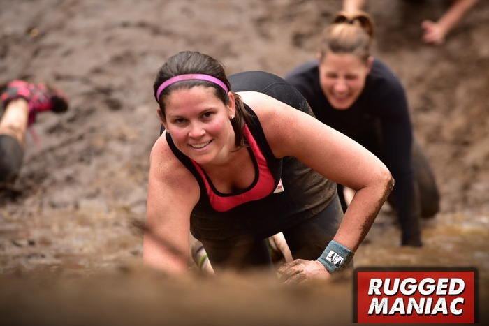 Rugged Maniac Charleston Mud Crawl 5k
