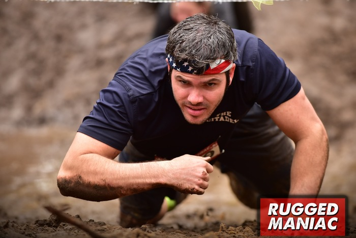 Rugged maniac parker army crawl